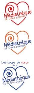 logo mediathèque projet instinct graphik cyrielle hergué