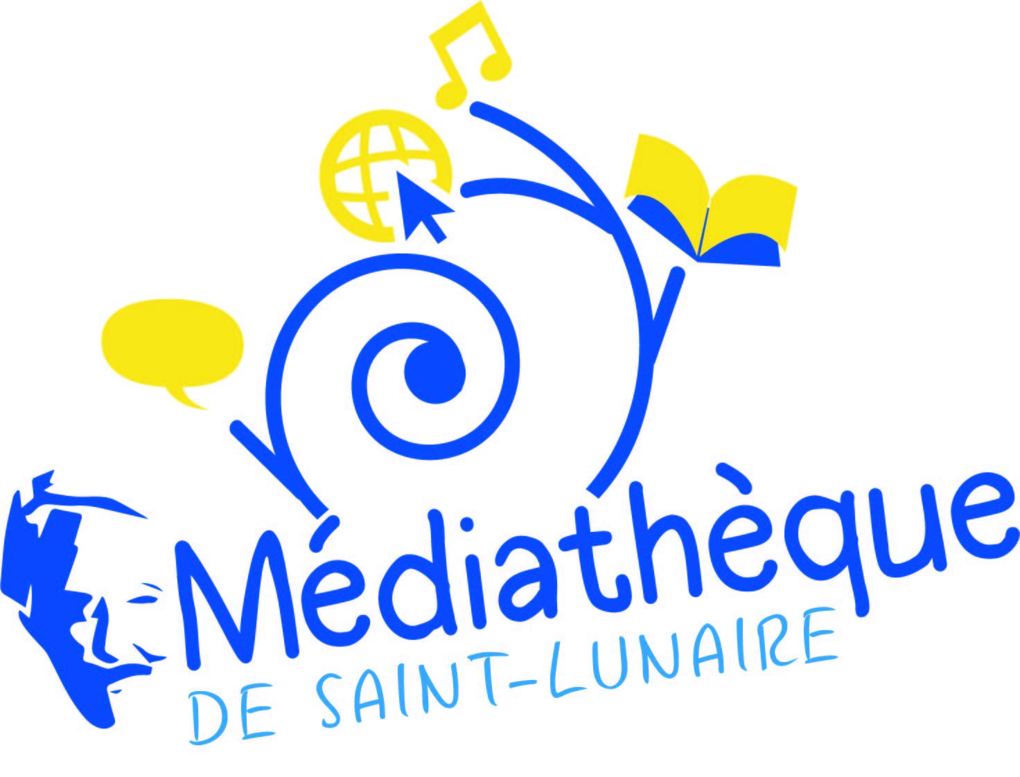instinct graphik logo médiathèque st lunaire dinard cote d'émeraude Saint briac graphiste cyrielle hergué